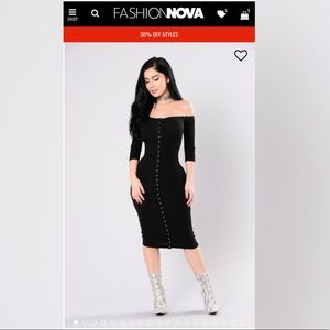 Fashion Nova Puppy Love Dress